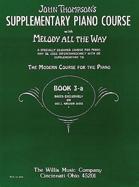 Melody All the Way - Book 3a