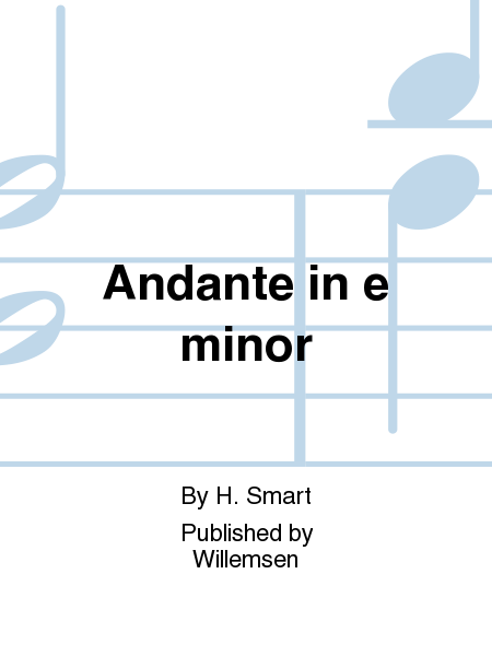 Andante in e minor