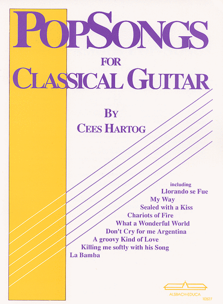 Popsongs for Classical Guitar vol.1