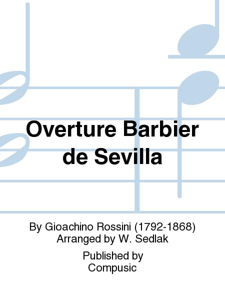 Overture Barbier de Sevilla