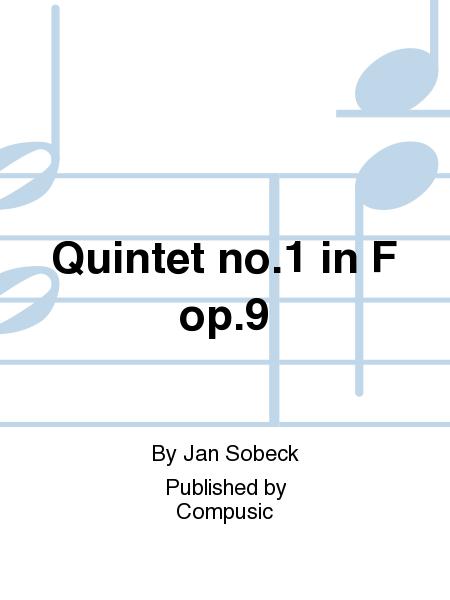 Quintet no.1 in F op.9