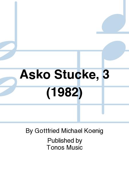 Asko Stucke, 3 (1982)