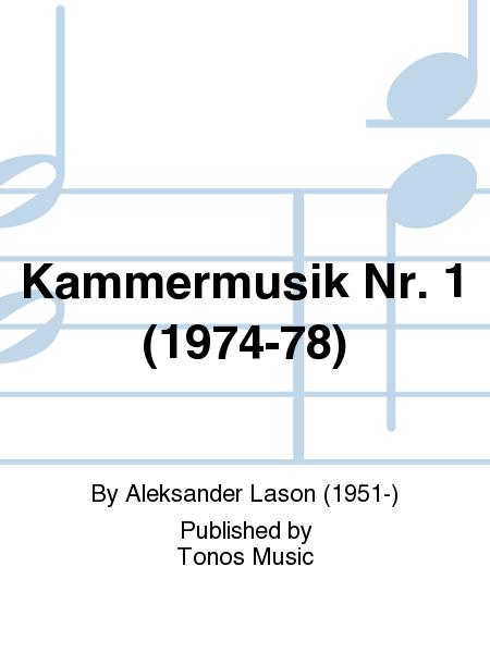 Kammermusik Nr. 1 (1974-78)