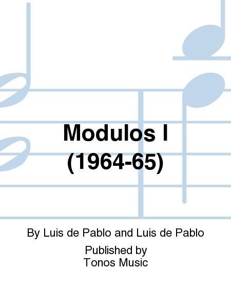 Modulos I (1964-65)