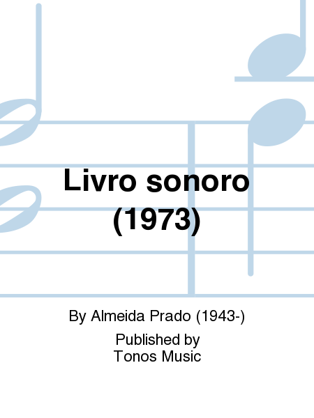 Livro sonoro (1973)