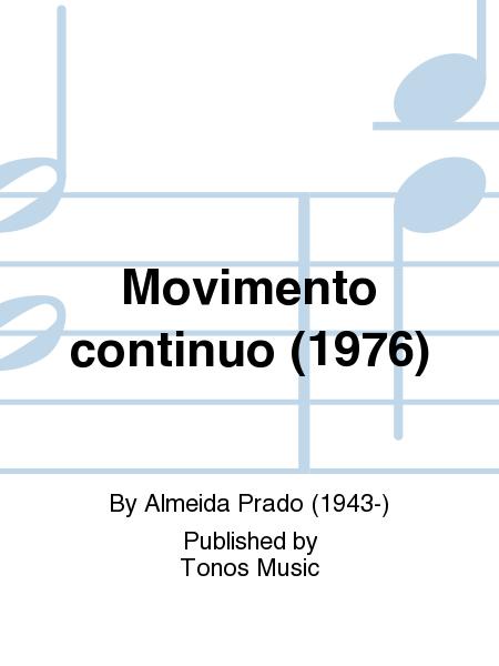Movimento continuo (1976)