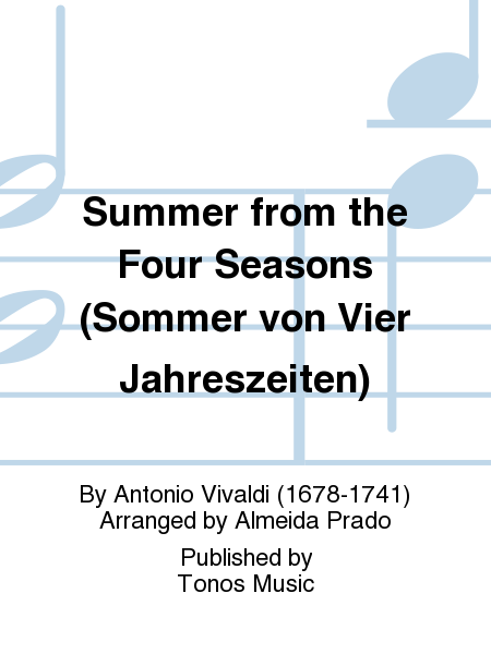 Summer from the Four Seasons (Sommer von Vier Jahreszeiten)