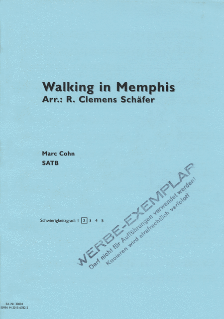 Walking in Memphis