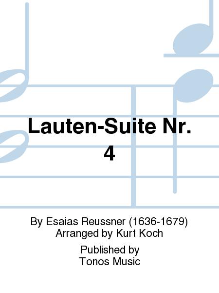 Lauten-Suite Nr. 4