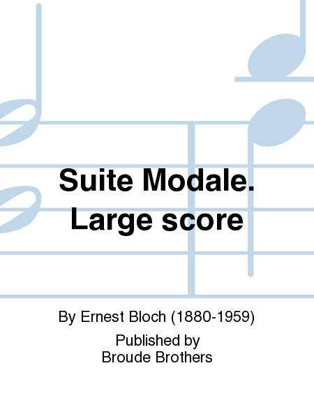 Suite Modale. Large score