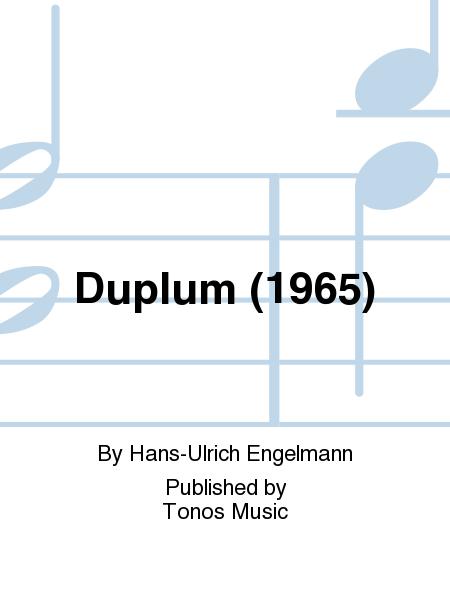 Duplum (1965)