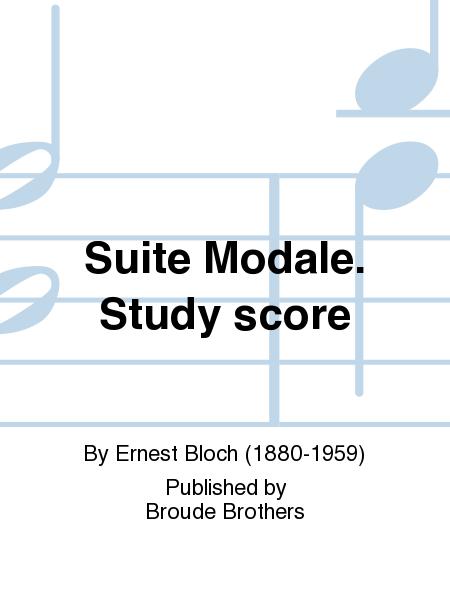 Suite Modale. Study score
