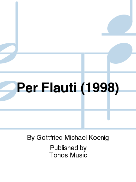 Per Flauti (1998)