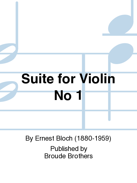 Suite for Violin No 1