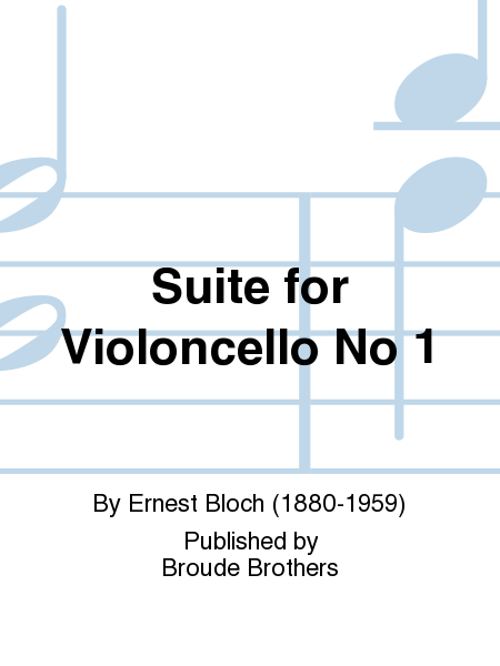 Suite for Violoncello No 1
