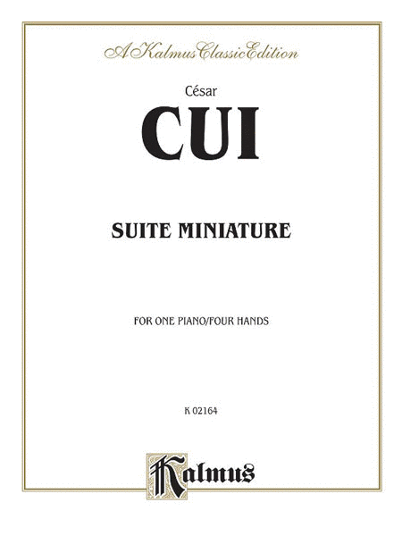 Suite Miniature - 1 Piano/4 Hands