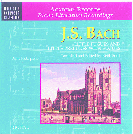 Bach Little Fugues & Little Preludes & Fugues (CD)