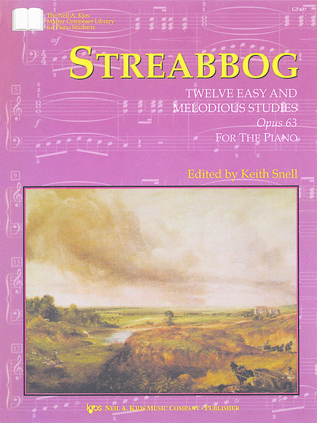 Streabbog: Twelve Easy and Melodious Studies, Opus 63