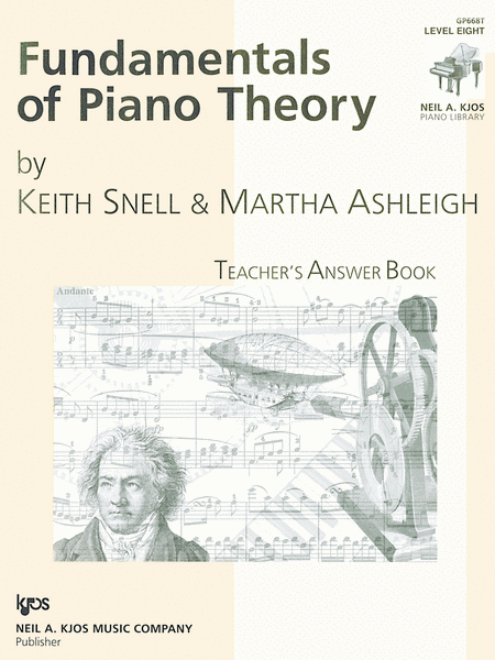 Fundamentals Of Piano Theory, Level 8 - Answer Book