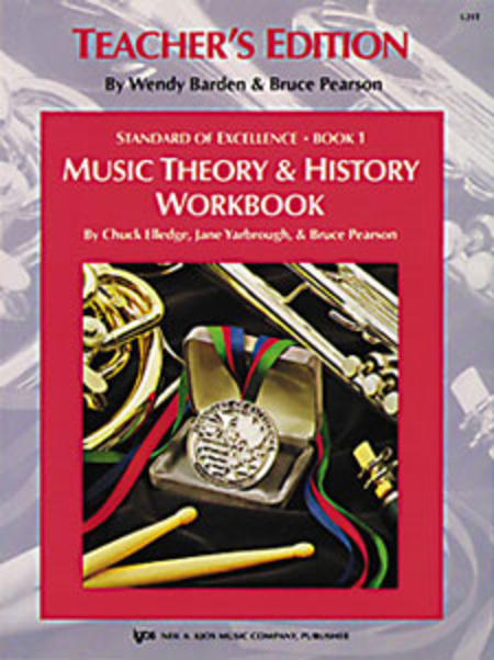 Standard of Excellence Book 1, Music Theory & History Workbook-Teacher