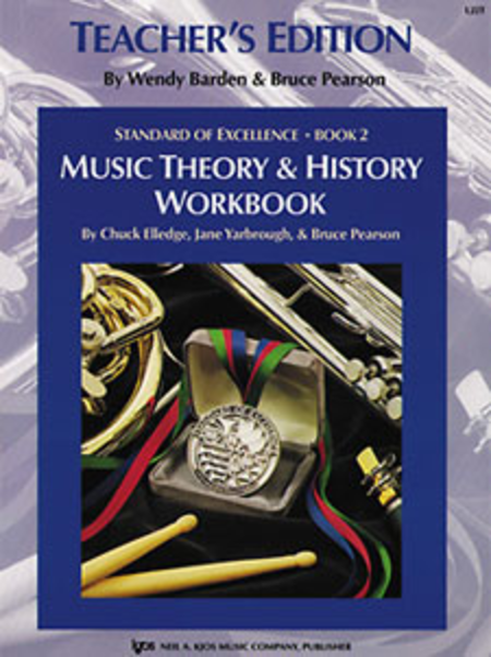 Standard of Excellence Book 2, Music Theory & History Workbook-Teacher