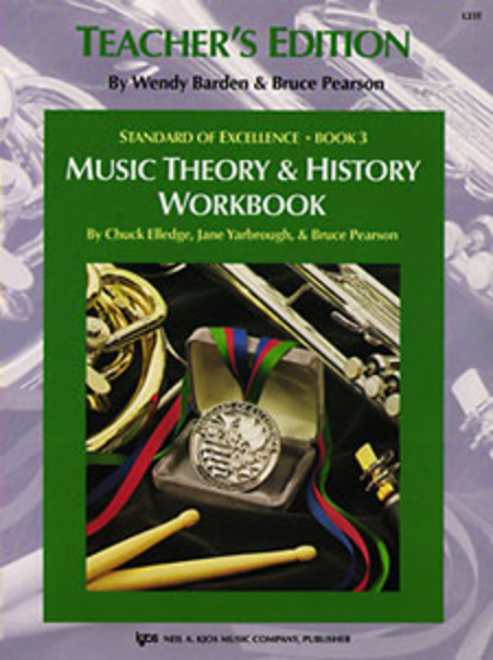 Standard of Excellence Book 3, Music Theory & History Workbook-Teacher