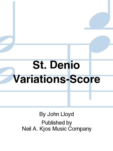 St. Denio Variations-Score