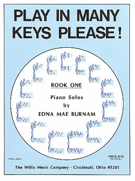 Play in Many Keys Please - Book 1