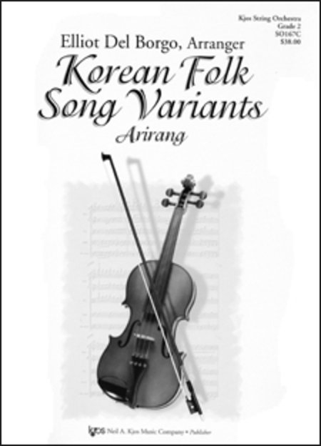 Korean Folk Song Variants - Score