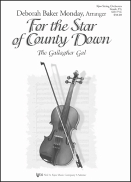 For the Star of County Down (The Gallagher Gal) - Score