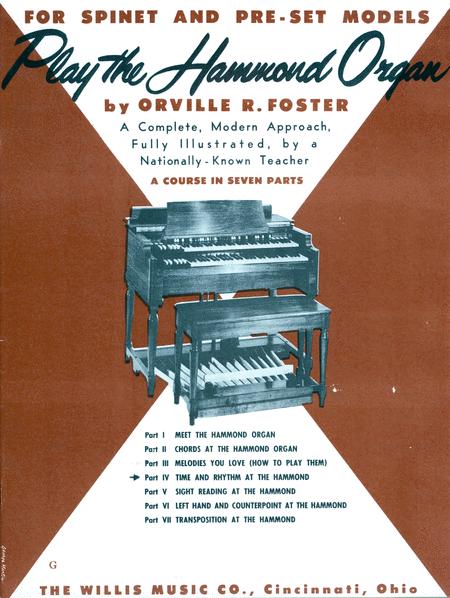 Play the Hammond Organ - Part 4
