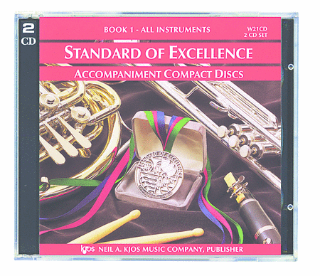 Standard of Excellence Book 1 CD 1&2