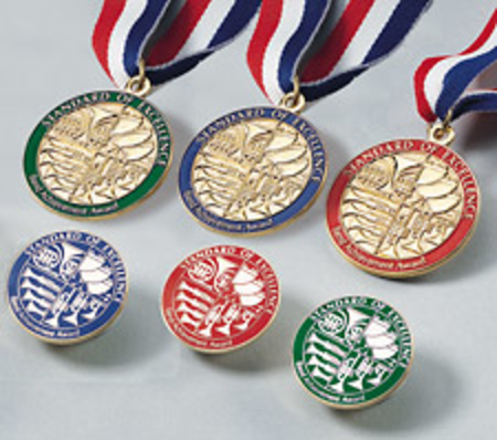 Standard of Excellence Book 3, Award Medal