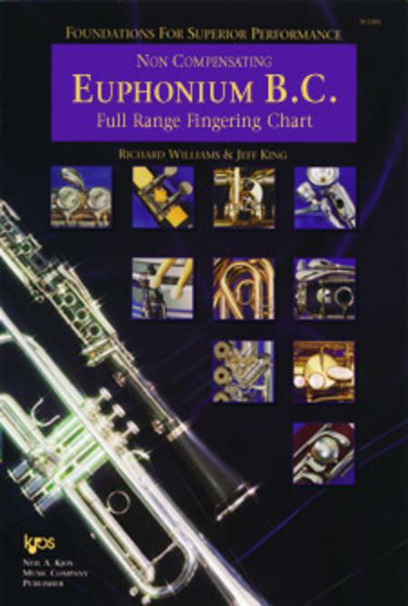 Foundations For Superior Performance Full Range Fingering Chart-Euphonium BC/Non Compensating