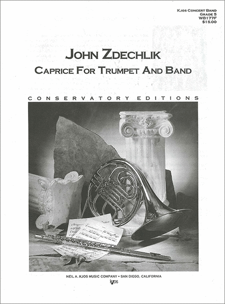 Caprice For Trumpet And Band-Score