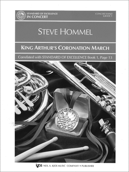 King Arthur's Coronation March-Score