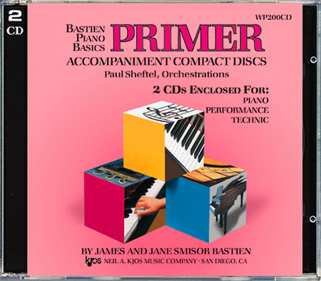 Bastien Piano Basics - Primer, Piano/Performance/Technic (Accompaniment CDs)