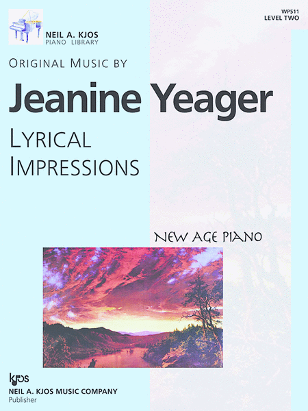New Age Piano Solos, Lyrical Impressions - Level 2