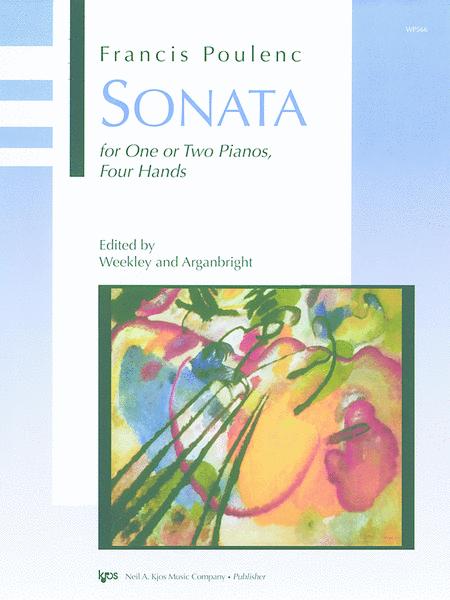 Sonata (By Poulenc)
