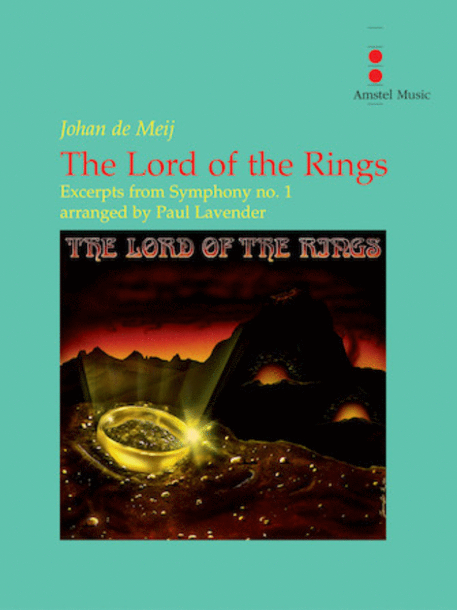 The Lord of the Rings (Excerpts from Symphony No. 1) - Concert Band