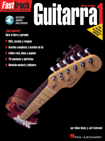 FastTrack Guitar Method - Spanish Edition - Level 1