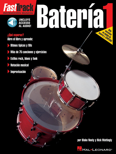 FastTrack Drum Method - Spanish Edition - Level 1