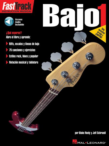 FastTrack Bass Method 1 - Spanish Edition
