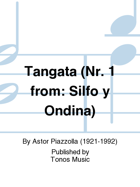 Tangata (Nr. 1 from: Silfo y Ondina)
