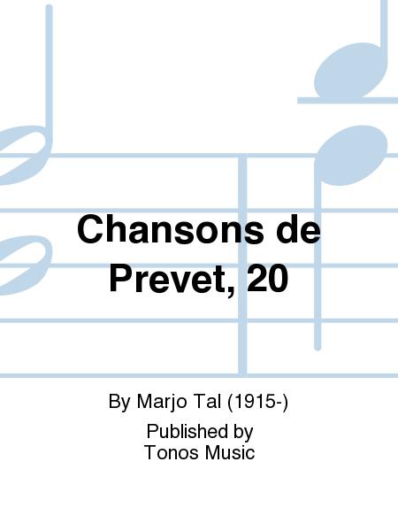 Chansons de Prevet, 20