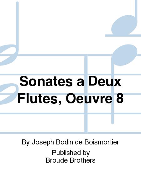 Sonates a Deux Flutes, Oeuvre 8