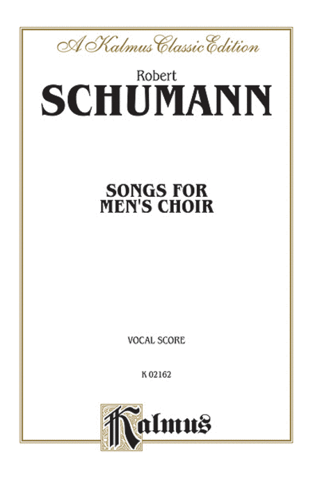 Songs for Men's Choir