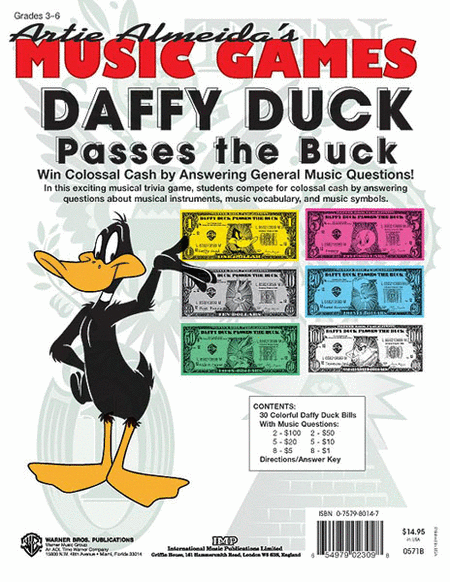 Daffy Duck Passes the Buck (Win Colossal Cash by Answering General Music Questions!)