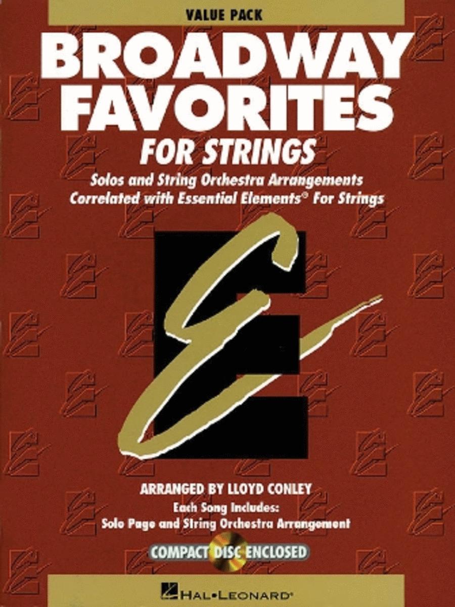 Essential Elements Broadway Favorites for Strings (Value Starter Pak)