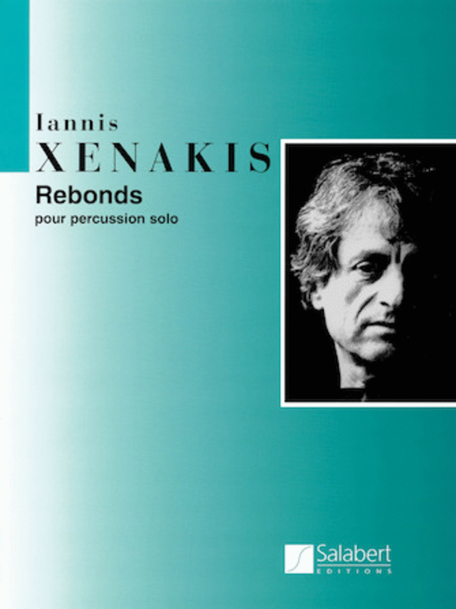 Rebonds Part A and Part B for Percussion (1987-1989)